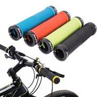 دراجة المقود مكونات الدراجات قابلة للقفل دراجة مقبض قبضة مكافحة زلة المطاط المقود يغطي أجزاء قابلة للطي MTB AG-16