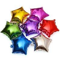 18 인치 스타 알루미늄 필름 풍선 웨딩 파티 장식 Colorfull 풍선 풍선 호일 풍선