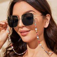 Fashion Bohemian Mask Strap Colorato Colorato Eyeglasses Maschere Catena Maschere Holder Neck Handmade Sunglasses Occhiali da sole Eyewear Appeso gioielli festa