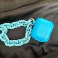 usps Grass Green Chains Bracelet Apple AirPods 1 2 3 Pro Case Cover IPhone Earbuds Accessories Airpod Case Air Pods Case coque