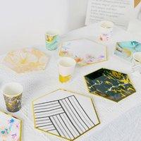 """الأطباق لوحات 7 """"المتاح أدوات المائدة حزب نزهة الخريف النزول ورقة لوحة الحلوى الجدول الأطفال ترتيب عيد الفاكهة"""