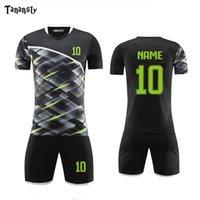DIY Fußball Fußball-Trikots Set Herren Fußballuniformen Set Custom Soccer Hemden und Shorts Erwachsene Sports Sets Anzug 2019 2020 Neue