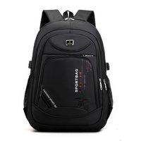 Backpack Fashion Large Men Backpack Laptop Rucksack School Bag For Teenage Boys Mochilas Female Shoulder Bags Backbag 210925