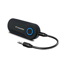 도매 블루투스 송신기 무선 오디오 어댑터 USB 전원 TV 컴퓨터 MP3 플레이어 헤드폰 (블랙) 용 USB 전원 3.5mm