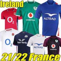 21/22 Weltmeisterschaft Irland Rugby-Trikots Frankreich Maillot de Foot Scotland Australien Englisch Französisch Boln Irisch NRL Lternate Jersey 2021 2022 Ulster Irischman Hemden S-5XL