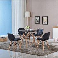 Moderna minimalista sala de jantar Cadeira de jantar Café Negociação Mesa e cadeiras Bar Butterfly Mobiliário