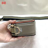 Sacos de ombro solteiros limitados de couro senhoras de couro bolsa de luxo designer famoso marca de moda marca para mulheres pequenas instantâneas câmera crossbody bolsas