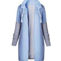 Giacche da donna New Fashion Autunno e Inverno Colore Corda Colore Cintura con cappuccio Cappotto Cappotto Slim Fleece Cappelli Cappotti Calda Abbigliamento manica lunga a manica lunga