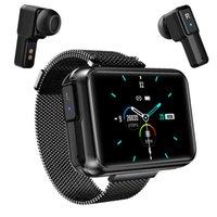 "Designer Luxury Brand Watches 2 en 1 TWS Inalámbrico Bluetooth Auriculares Smart Men 1.4 ""Big DIY Screen 5.0 Auriculares Fitness Tracker Smart"