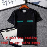 21SS Summer T-shirt per uomo Casual Tops Tee Shirt Fashion Letters Stampato T-shirt uomo Tees Abbigliamento M-2XL