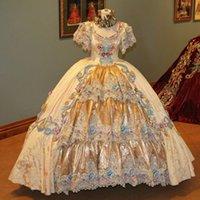 Luxury Quinceanera Dresses Beaded Lace Applique Sweet 16 Dress Martha Washington Society Ball Gowns vestido de 15 anos