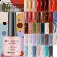 Gel per unghie Supwee 39 colori polacco semi permanente 10ml colore puro ibrido vernice vernice manicure arte immergibile fuori UV lampada a led base top coat