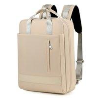 Waterproof Travel Bags Laptop Backpack Computer Notebook School Bag 15.4 15.6inch PC Cases