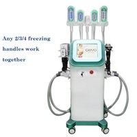 2021 Cryolipolysis Vacuum Fat Slimming Machine 7 Copos trocáveis Multifuncional Cavitação Ultrassônica Lipolaser Equipamento de Beleza Slim