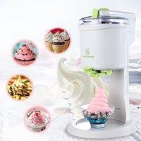 Fully Automatic Ice Cream Machine Mini Household Fruit Yogurt Sweet Tube Electric DIY Kitchen DWE9464