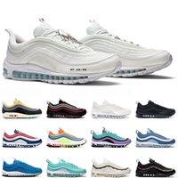Air Max 97 Laufschuhe Männer Frauen 97s Bred South Beach Midnight Navy Triple Black Sport Sneakers 36-45