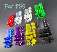 Clear Replacement Cover Cap for PS5 L1 R1 L2 R2 Gamepad Handle Accessories For PS5 Game Controller Full Buttons Joystick Key Transparent