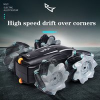 New Tumble Stunt RC Car 2.4G 4CH Drift Deformation Buggy Roll Flip 360 Degree Rotating Vehicle Models Wireless Remote Control Toys Electric Cool Cars Boy Gift
