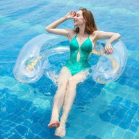 Inflable Verano Flotante Fila Piscina Aire Colchones Playa Playa Silla Plegable Silla Hamaca Agua Deportes Piscina Camp Mobiliario
