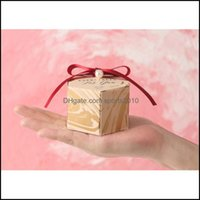 Gift Festive Home & Gardengift Wrap 20Pcs Hexagon Wedding Favor And Sweet Bags Candy Box For Baby Shower Birthday Guests Event Elmo Party Su
