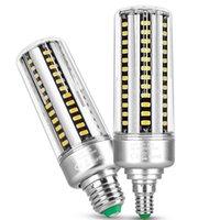 LED Bulb Warm White 3000K 6000K Edison E27 B22 Corn Bulbs Light Non-dimmable lamp AC85-265V crestech168