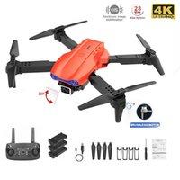 Drones K3 Drone 4K HD Dual Cámara de altura plegable Mantiene WiFi FPV 1080P Transmisión en tiempo real RC Quadcopter Toy