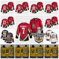 61 Mark Stone C Capitão Jersey Vegas Golden Knights 2021 Stanley Cup Playoffs Alex Pietrangelo Robin Lehner Fleury Smith Pacioretty Reaves Tuch