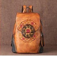 """المرأة العلامة التجارية حقيبة لويس """"فيتون مصمم V9C8 كبير الرجعية الجلود الإناث الأزهار 2021 حقيبة النساء الشتاء النقش حقيقي اليدوية كاب sbvve"""