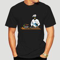 남자 티셔츠 마스터 수석 또는 요리사 순수 코튼 남성 짧은 소매 탑 티셔츠 정상적인 여름 스웨터 최신 O 넥 0920J
