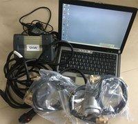 Scanner automático MB C3 Star com HDD instalado em D630 Laptop completo pronto para trabalhar o diagnóstico