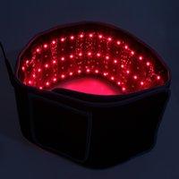 تصميم جديد التخسيس الخصر أحزمة الضوء الأحمر الأشعة تحت الحمراء العلاج حزام الإغاثة آلام lllt انحلال الشحن الجسم تشكيل النحت 660nm 850nm lipo الليزر