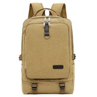 Backpack Quality Men Casual Climbing Bag Hiking Durable Canvas Male Travel Top Handle Luxury Designer Outdoor Bags
