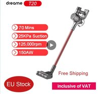 EU Instock] Dreame T20 Handheld Cordless Vacuum Cleaner Intelligent All-surface Brush 25kPa All In One Dust Collector inclusive of VAT