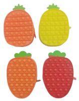 Fidget Toys Pencil case Bag Colorful Push Bubble Sensory Squishy Stress Reliever Autism Needs Anti-stress Rainbow Adult Toy For Children-TOPN335