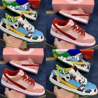 2021 Chunky Danky Big Kids Basketball shoes Ben Jerry Ice Cream Pre Teens Sneakers Skateboard Strangelove Trainers Size 4y 5y 6.5y