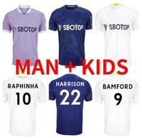2021 2022 leeds soccer jerseys COSTA ALIOSKI BAMFORD RAPHINHA Hernandez 21 22 Klich HARRISON T.Roberts RODRIGO LLORENTE COOPER POVEDA football shirt