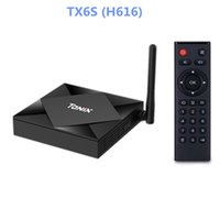 TX6S 스마트 TV 박스 Allwinner H616 듀얼 WiFi Android10.0 블루투스 2GB / 4GB / 8GB 32GB / 64GB 셋톱