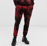 Mäns byxor 2021 Pantalones de Chándal Casuals Impresión 3D Flores aleatorias digitales para hombres
