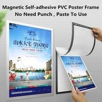 A3 Autoadhesivo Magnético Frigorífico Fotográfico Publicidad Publicidad Marco Plástico PVC Poster Frame Pantalla de Documento Pantalla