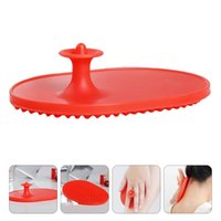 Hair Brushes 1pc Practical Body Brush Silicone Massager Meridian