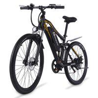 Shengmilo M60 27,5 Zoll Erwachsene Electric 500W Mountainbike 48V 17Ah Lithium Batterie Fahrrad 40km / h E-Bike