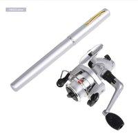 Barras de pescar barras de mar barra y carrete combinado conjunto de aleación de aluminio línea de spinning tonelura kit de ruedas