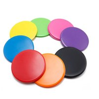 Accessories Gliding Discs Core Sliders Smooth Gliders Dual-Sided Design Exercise Use On Hardwood Floors Workout Fitness