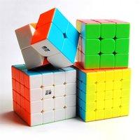 Qiyi 2x2 3x3 4x4 5x5 ماجيك مكعب كوبو ماجيكو profission لغز المحارب w 2x2x2 3x3x3 4x4x4 سرعة مكعب لعبة مكعب لعبة مكعب 210804