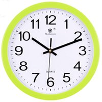 Modern Tasarım Sessiz Duvar Saati Cam Reloj De Cocina Plastik Büyük Dijital Çalışma Saatler Ev Dekorasyonu BB50W Saatler