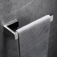 욕실 간단한 스테인레스 스틸 벽 마운트 수건 반지 수건 홀더 걸이 수건 매달려 선반 닦 았 니켈