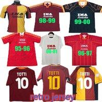 الرجعية Soccer Jerseys Home و Away 88 89 90 91 91 93 94 96 96 97 98 99 99 Roma 00 01 02 Totti Batistuta Candela Montella 2002 Maglia Da Nakata Football Compot