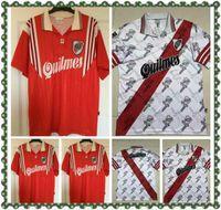 Rétro 96-98 River Plaque Soccer Jerseys FrancesColi Salas Vintage Football Camiseta Camiseta Kit Maillot Maglia