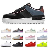 Airforces N354 Shadow Mca Cactus Jack React Ice Blue Casual Shoes for Men Women Low Black White Trainers Sports New Best Track Topshop999