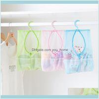 Housekeeping Organization Home & Gardenmulti-Purpose Bag Clothes Bags Kitchen Bathroom Hanging Storage Net Kids Toy Organizer Bag1 Drop Deli